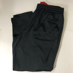 NWT Nike men 3XL-T black therma basketball pants
